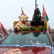 Автопробег «За единую Беларусь» в Минске: экскурсия по Дворцу Независимости и самый праздничный борт