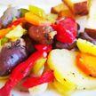 Куриные сердечки с овощами. ПП-рецепт с фото от телеведущей Екатерины Тишкевич