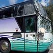 ДТП в Осиповичском районе: туристический автобус столкнулся с грузовиком