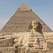 Древнего Сфинкса случайно откопали в Египте