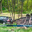Две легковушки столкнулись под Минском. Погибла женщина