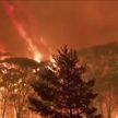 Пожар на востоке Австралии: 70-метровая стена пламени охватывает деревья
