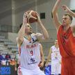 Сборная Беларуси по баскетболу разгромила команду Албании