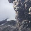 В Японии началось извержение вулкана