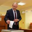 Игорь Сергеенко принял участие в досрочном голосовании на выборах Президента