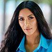 Ким Кардашьян показала лицо без макияжа, поражённое псориазом