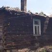 В деревне Харсы загорелся жилой деревянный дом