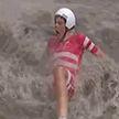 Спортсмены чуть не утонули в лужах на чемпионате по шоссейным велогонкам
