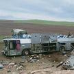 11 человек стали жертвами крушения пассажирского автобуса в Казахстане