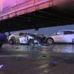 Сразу 60 машин столкнулись на магистрали в Чикаго