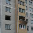 В Дрогичине в квартире монтировали натяжные полотки: выбило окна и почти обвалился балкон