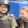 Спортивный праздник для детей устроили на базе столичного ОМОНа