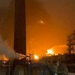 Пожар на нефтехимическом заводе в Уфе: один человек погиб