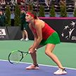 Белорусские теннисистки сразятся с немками за выход в полуфинал Кубка Федерации