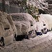 Снег выпал в Беларуси в конце марта