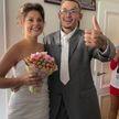 Моргенштерн на своей свадьбе прыгнул в огромный торт, ел его руками и подбрасывал куски в воздух! Посмотрите, как это было! (ВИДЕО)