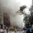 Мощный взрыв в Мадриде разрушил многоэтажный жилой дом. Погибли три человека