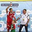 Сборная Беларуси по пляжному футболу выиграла домашний этап Евролиги