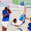 Сборная Беларуси по пляжному футболу продолжает успешное выступление на домашнем этапе Евролиги