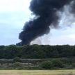 Клубы чёрного дыма окутали северную часть Лондона: в Тоттенхеме загорелся склад