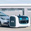 Робот работает парковщиком в аэропорту Лиона (Видео)