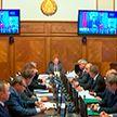 Правительство провело первое заседание в новом составе