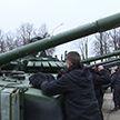 Десять танков нового поколения поступили на вооружение 120-й отдельной механизированной бригады