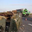 Фура протаранила грузовик в Белыничском районе, пострадали пять человек