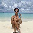 Изменилась? Звезда из «Папиных дочек» Мирослава Карпович наслаждается отдыхом с любимым на Мальдивах (ФОТО)