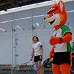 Минск готовится принять международный рейтинговый турнир по сквошу. Корты Falcon Club перед стартами протестировал Лесик