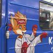 Брендированные символикой II Европейских игр вагоны появились в минском метро