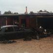 В Новогрудке мужчина тушил пожар в гараже и получил ожоги