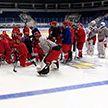 Молодёжная сборная Беларуси по хоккею готовится к чемпионату мира