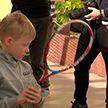 Флеш-моб «Белая карта»: об особенностях игры в теннис на колясках рассказали спортсмены детям-инвалидам
