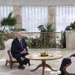 Лукашенко дал интервью телеканалу Sky News Arabia