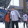 Более 50 человек приняли участие в лыжном забеге на гребном канале Бреста