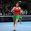 Теннисистки сборной Беларуси разгромили Германию и вышли в полуфинал Кубка Федерации