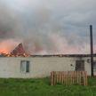 Загорелся коровник. Сотрудники не побоялись пожара и вывели из огня 400 коров
