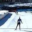 Норвежский биатлонист Стурла Холм Легрейд выиграл гонку преследования на четвертом этапе Кубка мира