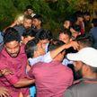 Трибуны обрушивались во время футбольного матча в Индии