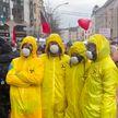 В Дрездене полиция была вынуждена применить силу: толпа попыталась атаковать центр вакцинации