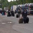 Еврейские паломники начали покидать нейтральную территорию на белорусско-украинской границе