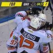 В заключительном туре чемпионата Беларуси по хоккею «Гомель» обыграл «Металлург»