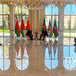 Лукашенко и Алиев проводят встречу во дворце «Загульба»
