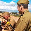 Легендарную операцию «Багратион» реконструировали на «Линии Сталина»: как это было (ФОТОРЕПОРТАЖ)