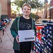 Подросток собрал больше 100 пар обуви, но не для себя