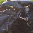 Авария в Могилёвском районе: автомобиль выехал на полосу встречного движения и поочерёдно столкнулся с Ford и Volkswagen (ВИДЕО)