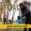 Чиновники вышли на субботник в Минске. Где и как наводили порядок?