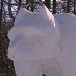 В ботаническом саду стартовал фестиваль снежных и ледовых скульптур