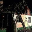В Ушачском районе при пожаре погиб мужчина